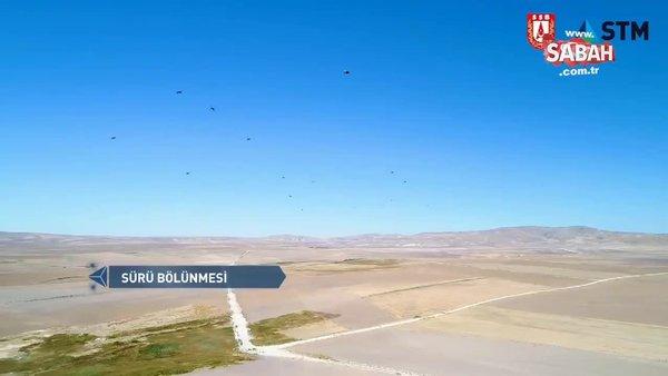 Savunma SanayiiBaşkanlığı paylaştı: Sürü İHA'lar yakında göreve hazır | Video