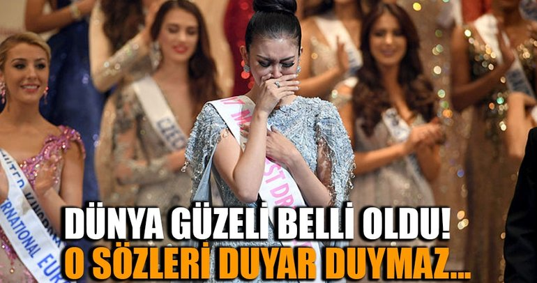 Miss International'ın kazananı belli oldu