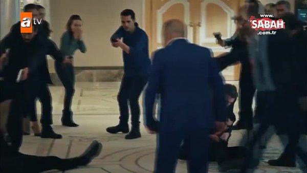 Eşkıya Dünyaya Hükümdar Olmaz'da geceye damga vuran sahne: Alpaslan vuruldu!