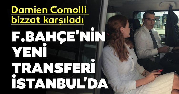 Fenerbahçe'nin yeni transferi Max Kruse İstanbul'da