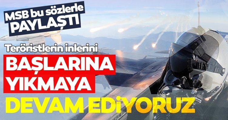 Son dakika: PKK'ya bir darbe daha! Gara'da 8 terörist etkisiz hale getirildi