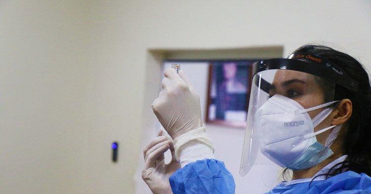 Sağlık çalışanları aşılanma başlandı