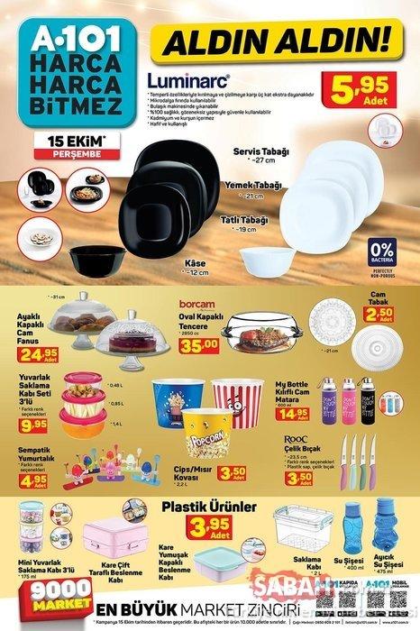A101 aktüel ürünler kataloğu dopdolu geliyor! Bu hafta A101 aktüel ürünler kataloğunda neler var?