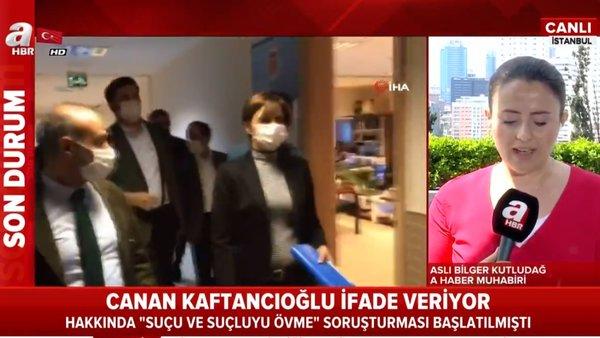 Son dakika: CHP İstanbul İl Başkanı Canan Kaftancıoğlu Adliye'de ifade veriyor   Video