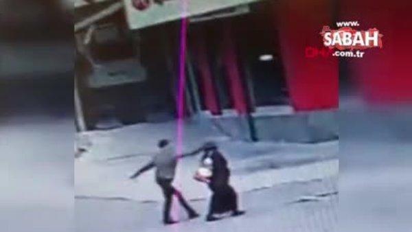 Gaziosmanpaşa'daki kapkaççı dehşeti kamerada | Video