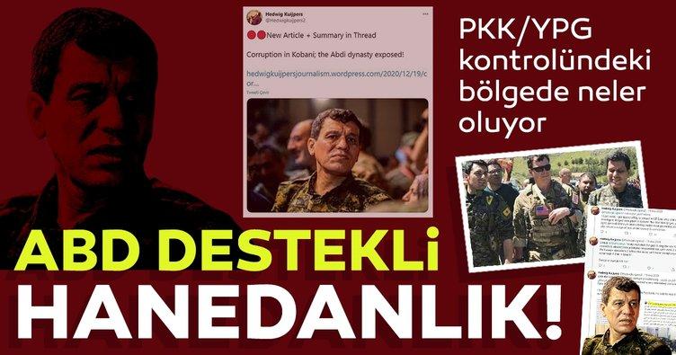 Terörist elebaşı Ferhat Abdi Kobani'de hanedanlık kurdu!