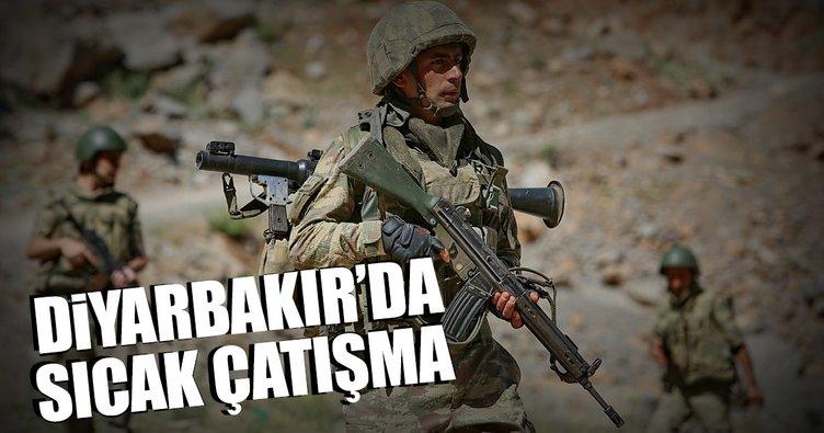 Diyarbakır'da çatışma: 3 terörist öldürüldü!