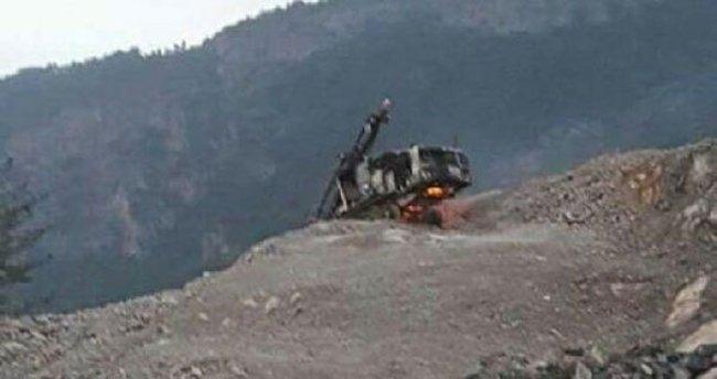 PKK Amanoslar'da taş ocağına saldırdı