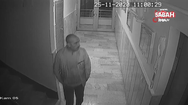 Damat ve öldürdüğü kayınbabasının son görüntüleri ortaya çıktı | Video