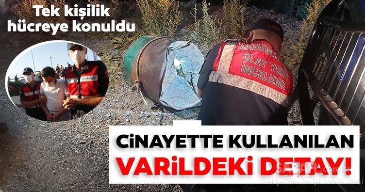 SON DAKİKA: Pınar Gültekin'in katili Cemal Metin Avcı tek kişilik hücreye konuldu! Cinayette kullanılan varildeki detay...