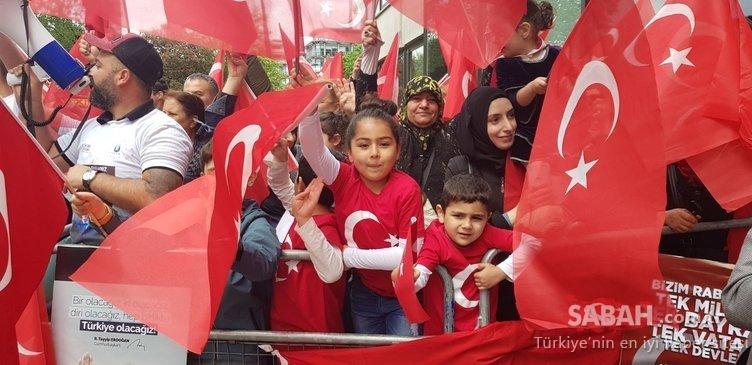 Cumhurbaşkanı Erdoğan'a İngiltere'de coşkulu karşılama - Ziyaretten renkli Görüntüler