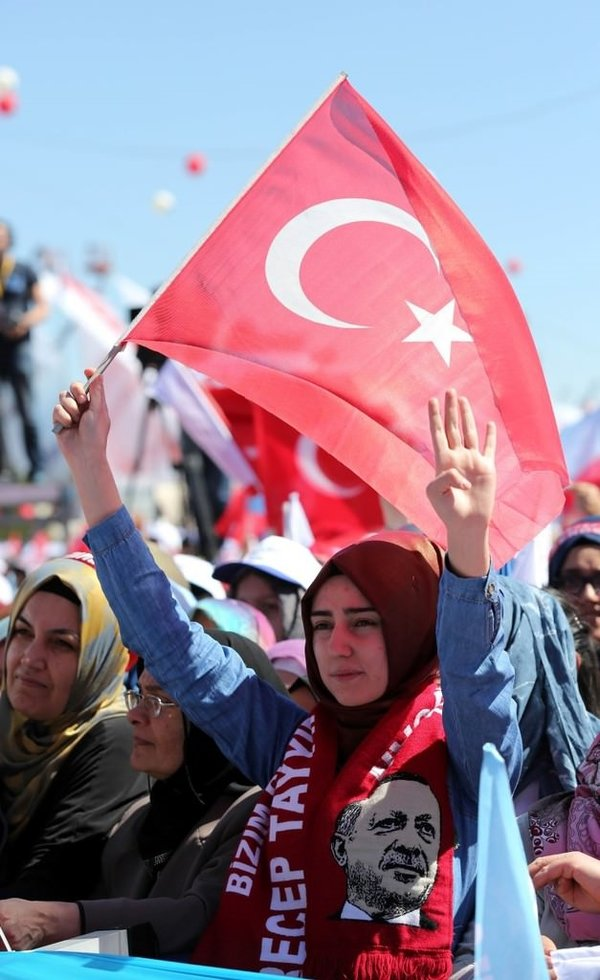 Ankara'da tarihi açılış töreni