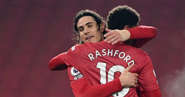 Manchester United sahasında Southampton'ı 9-0 yendi