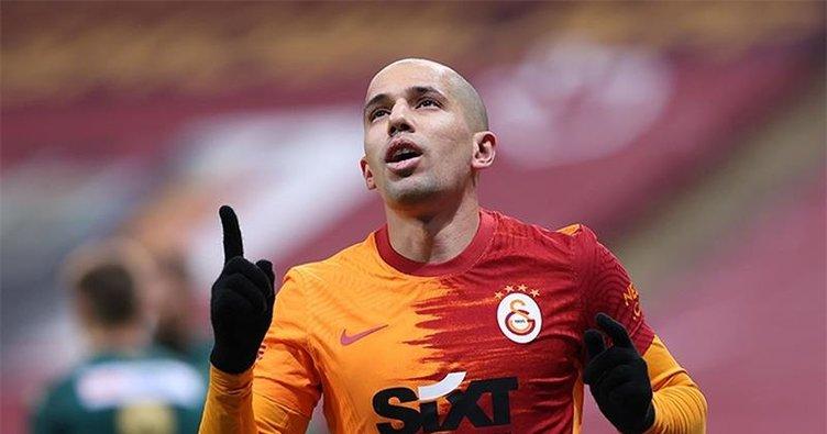 Sofiane Feghouli Fenerbahçe derbisinde yok!