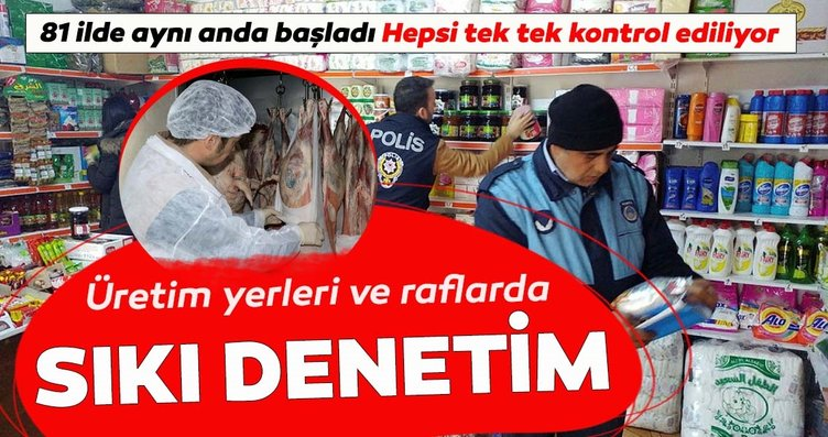 81 ilde aynı anda başladı. İstanbul'da et ve et...