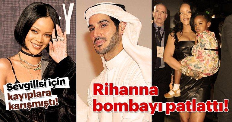 Sevgilisi için kayıplara karışan Rihanna bombayı patlattı!