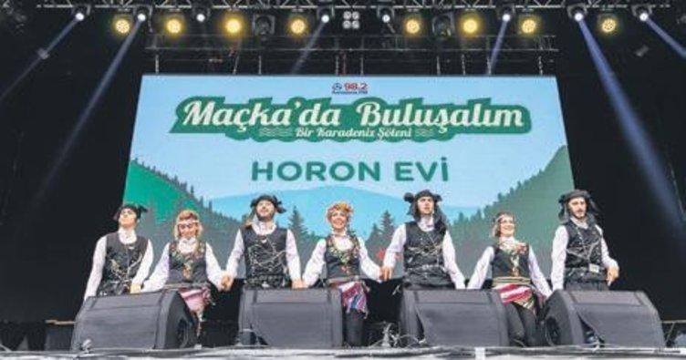 İstanbul'da Karadeniz şovu