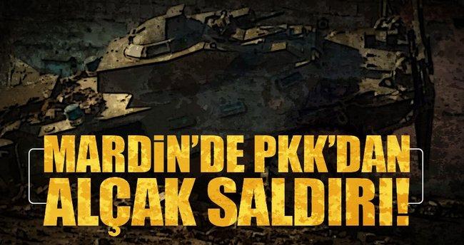 Mardin'de PKK'dan alçak saldırı!