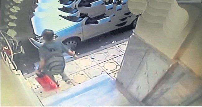 Çanta bank tutuklandı