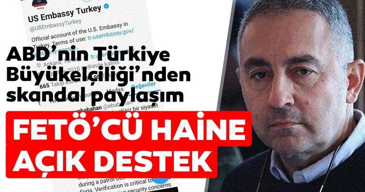 ABD'nin Türkiye Büyükelçiliği'nden skandal paylaşım