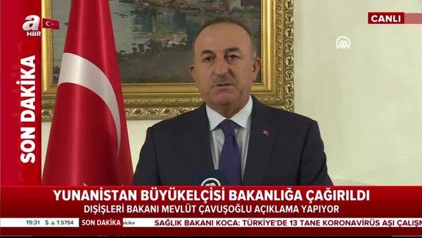 Son dakika! Bakan Çavuşoğlu'ndan önemli açıklamalar
