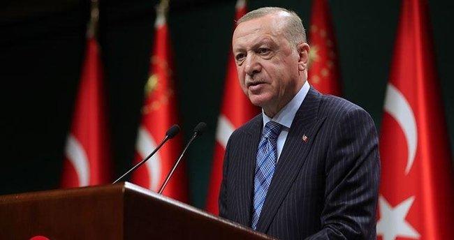 Başkan Erdoğan, şehit Jandarma Uzman Çavuş Keleş'in ailesine başsağlığı diledi