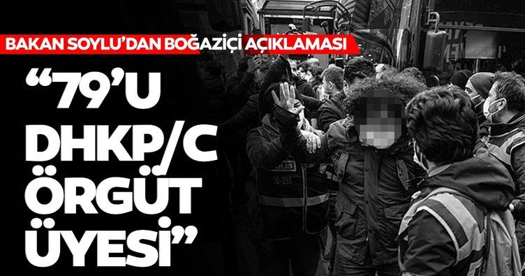 Son dakika: Bakan Soylu'dan Boğaziçi Üniversitesi açıklaması!