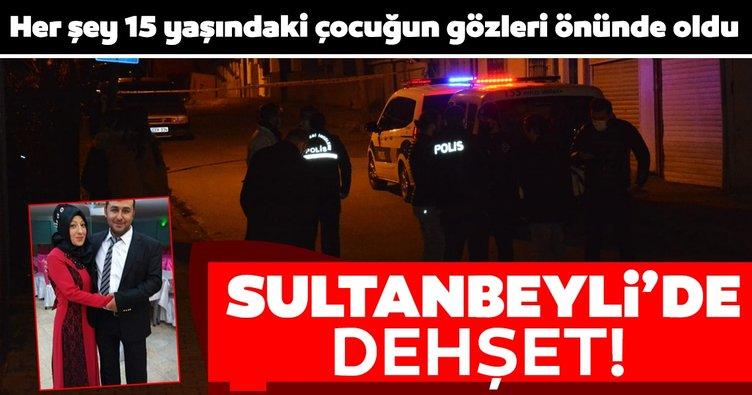 SON DAKİKA HABER: Sultanbeyli'de dehşet! Karısını öldürdü ardından intihara kalkıştı