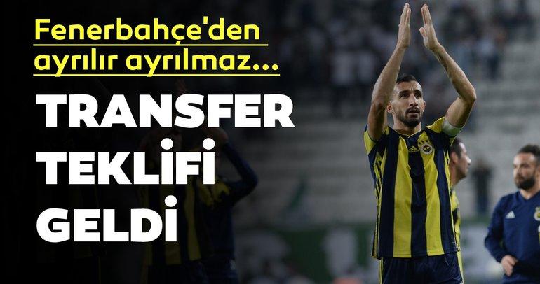 Son dakika transfer haberi: Fenerbahçe'den ayrılan Mehmet Topal'a ilk teklif geldi! İşte detaylar