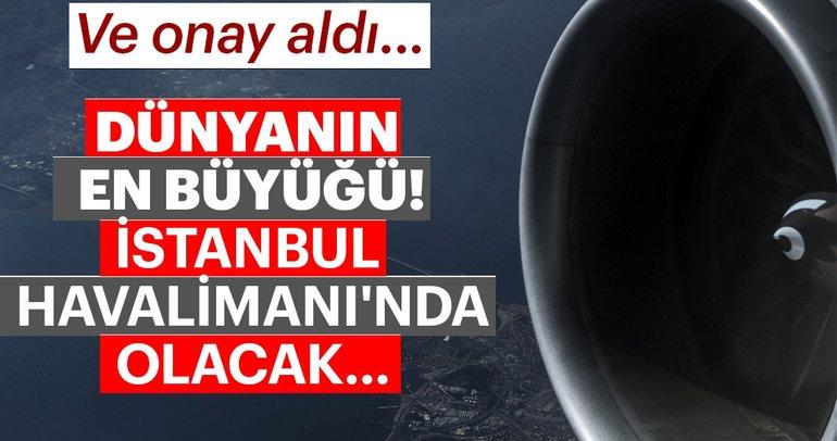 Dünyanın en büyük yakıt ikmal sistemi, İstanbul Havalimanı'nda