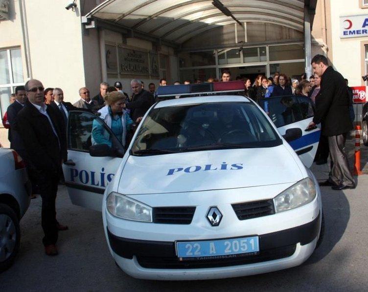 Edirne'de kahreden olay!