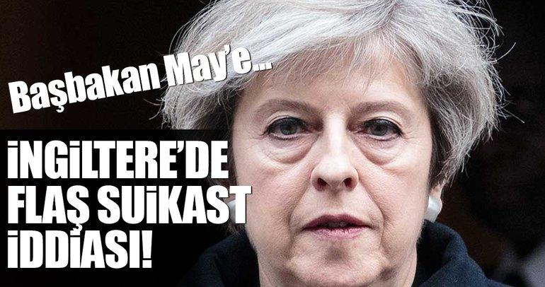 İngiltere Başbakanı May'e suikast planı iddiası