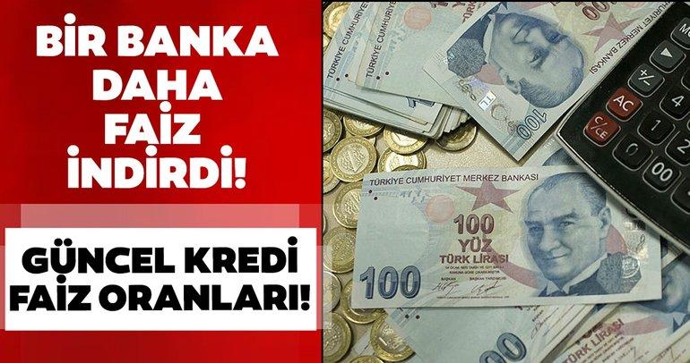 Son dakika haberi: Bir banka daha konut kredisi faiz oranını düşürdü! Akbank, Vakıfbank, Ziraat Bankası ihtiyaç, taşıt ve konut kredi faiz oranları