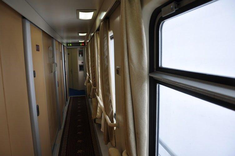 Dünyanın zirvesine giden tren