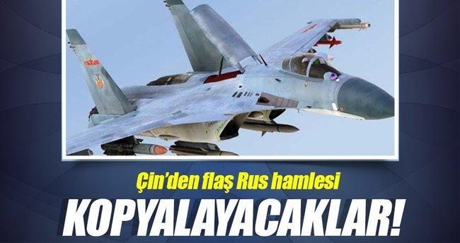 Çin, kopyalamak için Rus uçaklarını satın alıyor