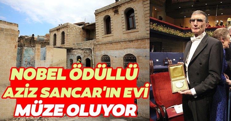 Nobel ödüllü Aziz Sancar'ın Mardin'deki evi müze oluyor