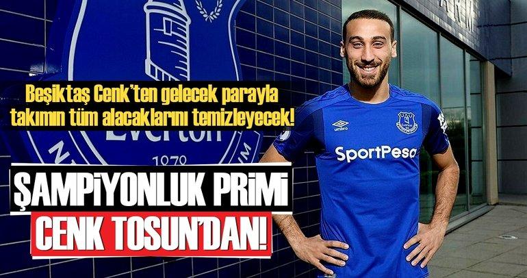 Şampiyonluk primi Tosun Paşa'dan!