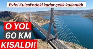 Doğu'nun Boğaz Köprüsü'nden 2 milyondan fazla araç geçti