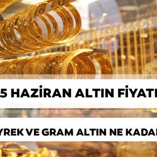 Altın fiyatlarında son durum: Tam, gram, çeyrek altın fiyatları bugün ne kadar?(15 Haziran 2019 Cumartesi)