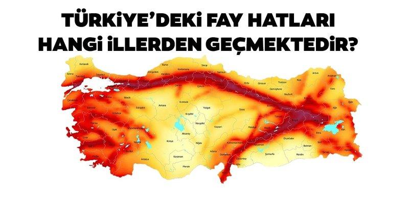 Dogu Anadolu Fay Hatti Nerelerden Geciyor Dogu Anadolu Fay Hatti