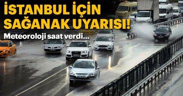 Meteoroloji'den İstanbul için son dakika hava durumu uyarısı!