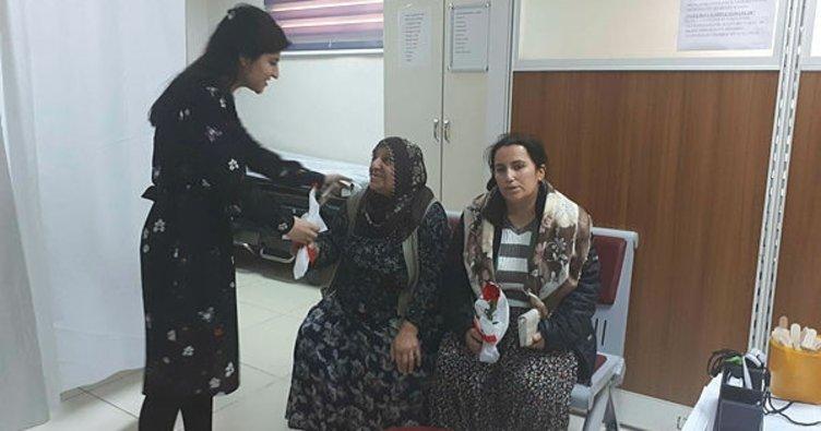 Çelikhan Devlet Hastanesinde Kadınlar Günü kutlandı