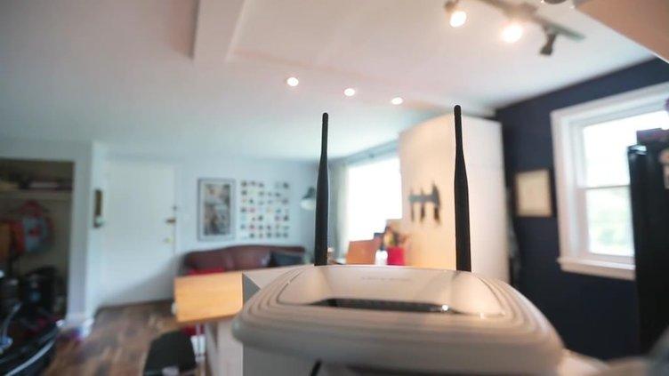Evindeki 'wireless'i bu yöntemle hızlandırdı