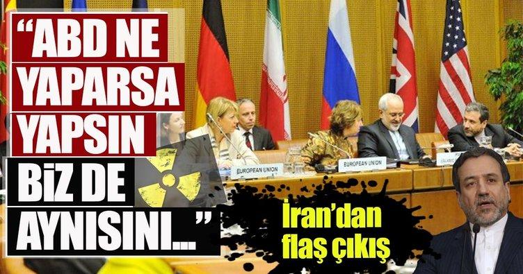 İran'dan ABD'ye 5+1 Nükleer Anlaşma uyarısı