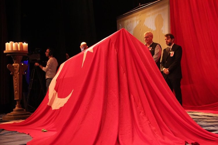 Usta oyuncu Gönül Ülkü Özcan son yolculuğuna uğurlandı