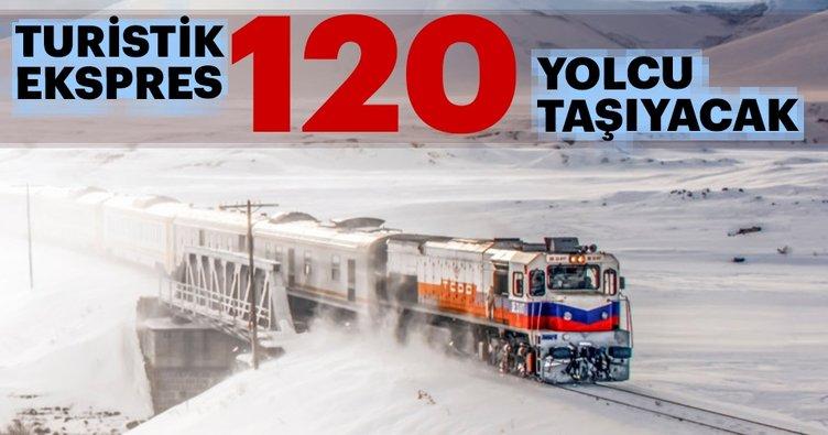 Turistik ekspres 120 yolcu taşıyacak