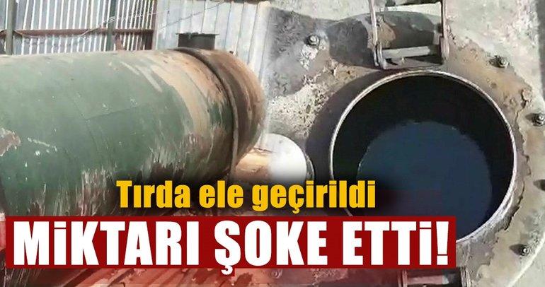 Son dakika: Mersin'de 43 bin 740 litre kaçak akaryakıt ele geçirildi