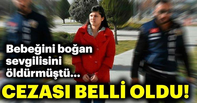 Konya'daki cinayet davası! Sevgilisini öldüren kadının cezası belli oldu!