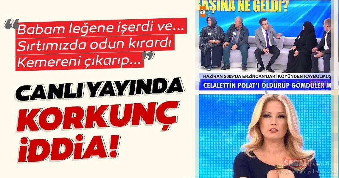 Müge Anlı canlı yayınında son dakika haber! Celalettin Polat olayında korkunç iddia