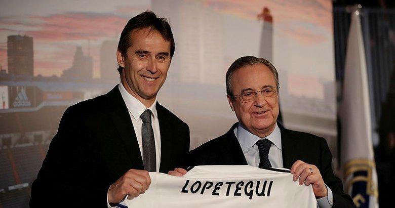 Real Madrid, Julen Lopetegui'ye olay imzayı dün attırdı